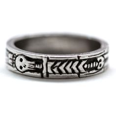 Fab.com | Georgian Skeleton Ring