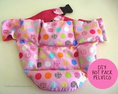 hot pack pelvico Hot, Scrub Caps, Backrest Pillow, Packing, Sewing, Simple, Tutorial, Pattern, How To Make