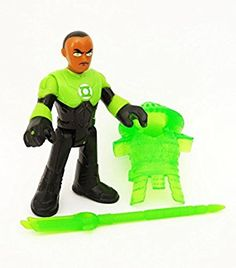 "Amazon.com: Green Lantern Blind Bag Fisher Price Imaginext DC Super Friends 2.5"" Factory Sealed ""IN STOCK"": Toys & Games"