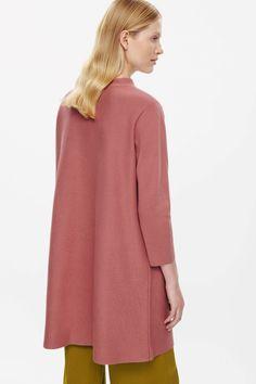 COS   A-line milano knit dress