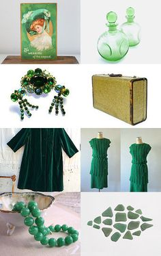 Emeralds for Eve --Pinned by xurple.etsy.com with TreasuryPin.com