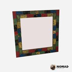 Espejo cuadrado y colorido - Línea Starboard @No