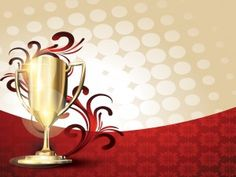This free Trophy Abstract Powerpoint template is a simple and elegant background design with a trophy image on the patterned background that contains also floral effect in the slide design. Business Presentation, Presentation Design, Powerpoint Themes, Slide Design, Abstract Backgrounds, Objects, Design Inspiration, Templates, Simple