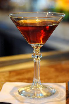 The Problem Solver 2 oz rye whiskey oz cherry heering oz Benedictine Fernet Branca Rye Whiskey, Whiskey Cocktails, Cocktail Drinks, Cocktail Recipes, Cocktail Ideas, Bourbon Drinks, Non Alcoholic Drinks, Fun Drinks, Yummy Drinks