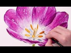 Water droplets can add a touch of magic to a painting. And they can cause quite a bit of confusion when trying to paint them in watercolour. Although they si...