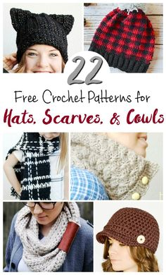 There are so many Free Crochet Patterns Beginners will love online. I've rounded up the best free crochet patterns beginners can use. Beginner Crochet Tutorial, Beginner Crochet Projects, Crochet Patterns For Beginners, Easy Crochet Patterns, Knitting Patterns, Crochet Ideas, All Free Crochet, Diy Crochet, Crochet Beanie