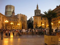"""Valencia: On the Mediterranean coast. It is in a rich agricultural region called the """"garden spot of Spain."""" It is a leading export center for the oranges and rice. Beautiful Places To Visit, Wonderful Places, Places To Travel, Places To See, Valencia City, Places In Spain, Places Of Interest, Spain Travel, Malaga"""