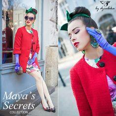 Tamara, autorka bloga Macademian Girl wybiera biżuterię By Dziubeka z kolekcji Maya's Secrets. #bydziubeka #jewelry #mayas #secrets #earrings #ring