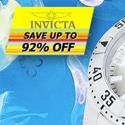 High-Performance Watch Selections From Invicta  As accessories exclusively designed for the man who wants it all and expects more, these Invicta watches were created to impress. Featuring stylish elements and precision timekeeping, they're an easy way to show off your signature style without compromise. Sporty, sophisticated, and perfect with professional and casual wear alike, Invicta incoporates everything you could ask for and adds a refined touch to seal it together. nomorerack.com…
