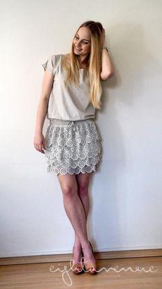 eightavenue.pl - Odzież - Sukienka z falbankami by o la la