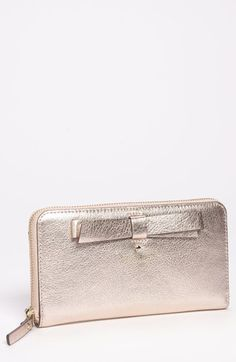 kate spade new york 'hancock park - lacey' leather zip wallet available at #Nordstrom