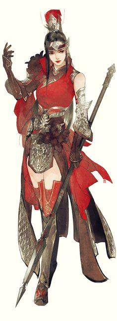 Chinese female warrior