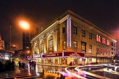 """Hawaii Theatre ~ Opened 1922 in downtown Honolulu, this vaudeville theater & cinema was once deemed """"The Pride of the Pacific."""" It is now on the Hawaii & National Registry of Historic Places."""