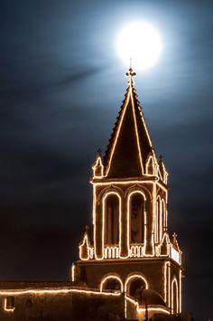 Christmas Church - Palamós, Costa Brava, Spain