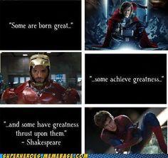 ironman  Spider-Man   Thor