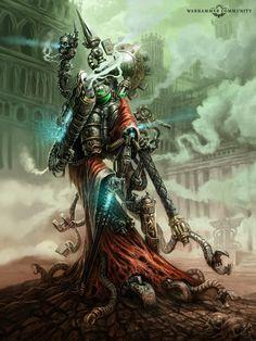 Warhammer 40000, Warhammer Art, Dark Fantasy, Sci Fi Fantasy, Warhammer Fantasy, Design Alien, Futuristic Art, Game Workshop, The Grim