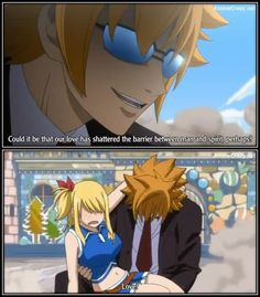 Lucy & Loki (from fairy tail)