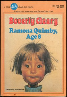 Ramona Quimby, Age 8 , by Beverly Cleary I loved reading all of the Ramona books to my graders and can't wait to share them with my granddaughter, Lilah, when she gets old enough! Ramona Quimby, Up Book, This Book, Book Nerd, Ramona Books, Good Books, Books To Read, It's Over Now, Beverly Cleary