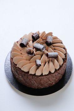 Charlotte au chocolat - Olivia Pâtisse