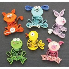 Quilling Kit Animal Buddies