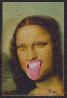 La Madone, Mona Lisa Parody, Mona Lisa Smile, Clowning Around, Missing Child, Comedy Memes, Meme Faces, Classic Beauty, Funny Pictures