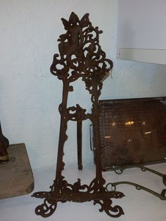Victorian Book Stand.