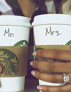 Mr. And Mrs. Announcement