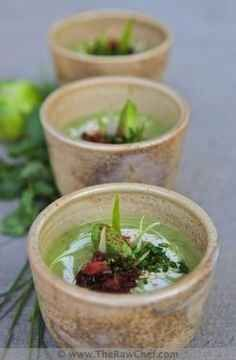 Avocado Soup. | 75 Amazing Uses For Avocados That Will Blow Your Mind