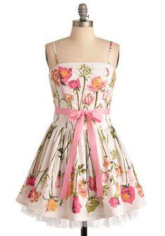 spring dress...
