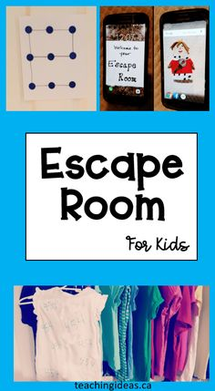 Escape Room Diy, Escape Room For Kids, Escape Room Puzzles, Kids Room, Indoor Activities For Kids, Sensory Activities, Children Activities, Indoor Games, Learning Activities