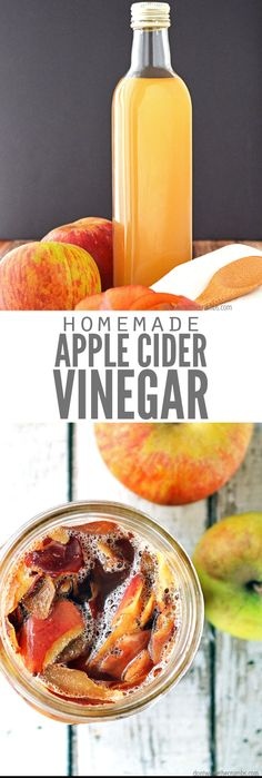 This incredibly simple tutorial for homemade apple cider vinegar starts with unused apple peels and cores and in weeks, makes delicious ACV with Mother! Considering the peels & cores were trash anyway, it's learning how to make apple cider vinegar for Lillet Berry, Homemade Apple Cider Vinegar, Apple Cider Vinegar Mother, Coconut Oil Weight Loss, Paleo, Natural Cold Remedies, No Waste, Other Recipes, Along The Way