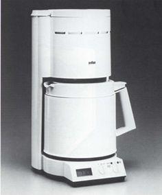 Kaffeeautomat Braun Aromaster 10 control s KF 90  iF DESIGN AWARD 1987
