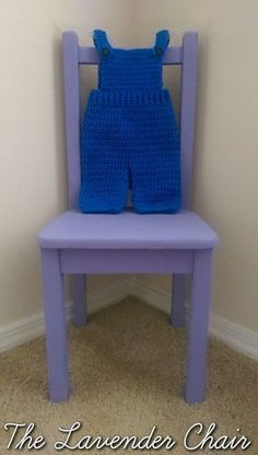 Overalls free crochet pattern - The Lavender Chair