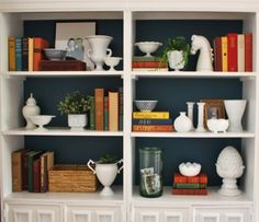 Styling Your Bookcases Step by Step