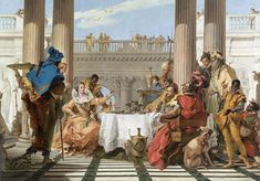 The Banquet of Cleopatra | Giambattista TIEPOLO | NGV | View Work
