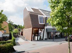 New building for Deli Shop / BaksvanWengerden Architecten
