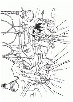 pirates of the caribbean coloring pages 29
