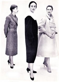 1954 Afternoon ensemble