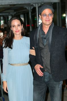 angelina jolie and brad pitt images 2015 | Brad Pitt and Angelina Jolie Coordinated Outfits -- The Cut