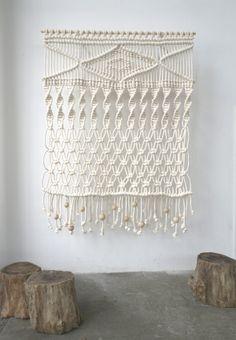 modern macramé by Sally England