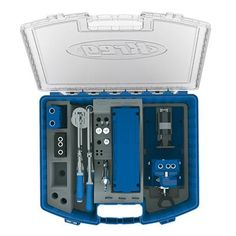 The all-new System Organizer is the perfect place to store and organize all of your Kreg Joinery system parts — your Kreg Jig®, Kreg Clamps, Kreg Screws, drill and driver bits, and more. A portion of the Organizer's tray can be removed for storage of other items such as the Kreg Shelf Pin Jig, compact drills and drivers, and more.