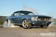 1968 Ford Mustang Fastback - The Kids Are All Right: Next-generation builder Joe DeBattista turns a classic Fastback into a performer with leftover parts and a budget.