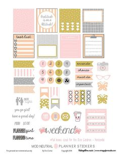 FREE Mod-Neutral-Planner-Stickers by Vintage Glam Studio