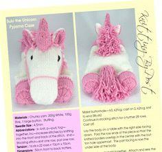 unicorn knitting pattern web