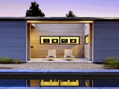 Pool House at the Hydeway House in Sonoma, California