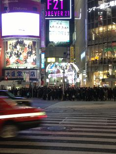 Shibuya Hachiko Crossing on Christmas Eve.