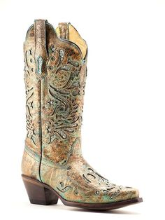 bf81ee74328 Ladies Corral R1255 Boots - Texas Boot Company is located in Bastrop