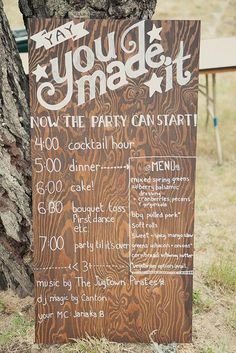 Wedding Signage Inspiration | Simply Peachy Wedding Blog