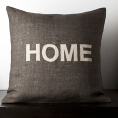 Mia Dark Brown Novelty 22-inch Decorative Down Pillow | Overstock.com Shopping - Great Deals on Throw Pillows