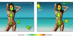 29 Eye-Tracking Heatmaps Reveal Where People Really Look  Read more: http://www.businessinsider.com/eye-tracking-heatmaps-2014-7#ixzz38mzv8I3m